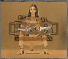 COFFRET 2 CD COMPIL--ESSENTIAL R&B - 20 PURE R&B FLAVA'S--2 PAC/SPARKLE/DESIRE..
