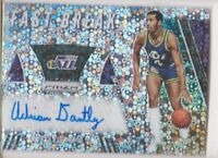 2019-20 Adrian Dantley Auto Panini Disco Prizm Jazz Fast Break