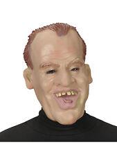 Latex Maske David Karneval lustiger Mann Fasching