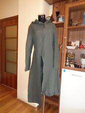 SARAH PACINI gris taupe Côtelé Texturé zippé à capuche Quirky Crds manteau-Taille 0