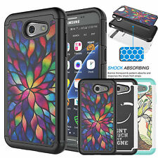 For Samsung Galaxy Express Prime 2/J3 Emerge Shockproof Rubber Hard Case Cover