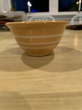 "New ListingAmerican Girl: Addy's Sweet Potato Bowl 1 3/4"" tall 3 1/2"" diam Rowe Pottery"