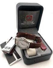 Swiss Army Men's Watch & Knife Victorinox Red STEEL NOS BOX PAPERS JUST SERVICED