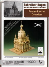Schreiber Bogen 591 - Kartonmodell - Frauenkirche Dresden - 1:300