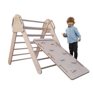 Pikler Dreieck Triangel Spielgeräte Kinder Holz Kletterwand Sportgerät Baby