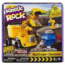 Kinetic Sand Truck Rock Crusher Kit Set Dig Build & Crush EXCLUSIVE New & Sealed
