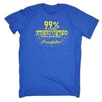 99% Kids Awesomeness From Grandfather T-SHIRT Him Newborn Funny birthday gift