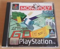 MONOPOLY. Sony PlayStation 1, PAL. PS1 Game.