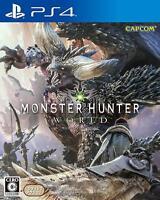 PS4 Monster Hunter World Japan F/S