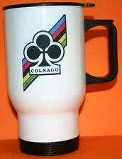 COLNAGO RETRO CYCLING BICYCLE 14oz NOVELTY INSULATED TRAVEL TEA/COFFEE MUG