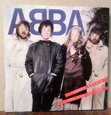 ABBA - UNDER ATTACK / YOU OWE ME ONE ORIGINAL UK 7'' vinyl single Epic label
