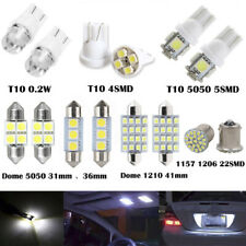 14Pcs Car LED Light Interior Package Map Dome License Plate Indicator Bulb Lamp