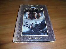 Pearl Harbor (DVD, 2001, 2-Disc Widescreen) Josh Hartnett, Ben Affleck Used