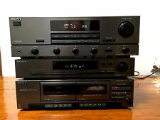SONY TA-AV421 Stereo Component System  / AMPLIFIER / DECK / FM-AM  TUNER / 220W