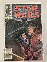 Star Wars No 95, Marvel May 1985, Luke Skywalker, Princess Leia SciFi Comic Book