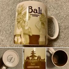 Starbucks Indonesia Global Icon Cup Bali City Coffee Mug MIC
