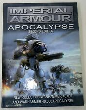 Forge World Warhammer 40K Imperial Armour Apocalypse Second Edition Rule Book