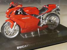 PRL) DUCATI 999 TESTASTRETTA 2003 MODELLINO MOTO MODEL ITALY COLLECTION BIKE