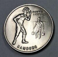 Hamburg Medaille - Hummel Hummel ... Mors Mors - st / unc. erhalten