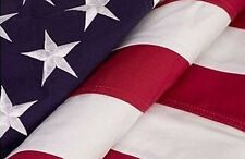 5 X 8 FT  5X8 US AMERICAN USA 2 PLY POLYESTER FLAG HEAVY DUTY MADE IN USA (NEW)
