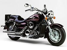 Kawasaki Vulcan 1600 Classic Motorbike Poster Print A4