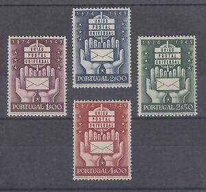 Portugal Sc 713-716 MNH. 1949 UPU 75th Anniversary, complete set,