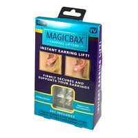 MagicBax Earring Backs Lifters As Seen on TV - 2 PAIRS SALE! - IN RETAIL BOX