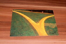 Christo * Wrapped Walk Ways, USA 77-78 *, originale signed AK/Postcard 10x15 cm