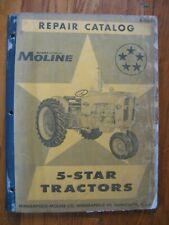 5 Star 5 Star Minneapolis Moline Repair Parts Catalog Manual Original