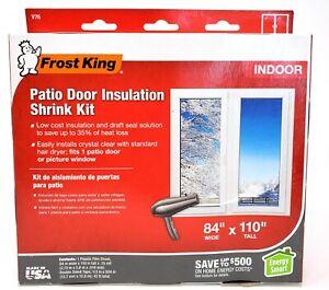 """Frost King Patio Door Insulation Kit 84"""" x 110"""""""