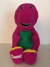 """Talking Barney Plush Large Stuffed 18"""" Dinosaur Vintage Playskool"""