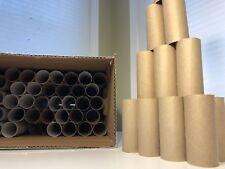 80 Empty Cardboard Toilet Paper Rolls Craft Supplies Project Art Tubes DIY