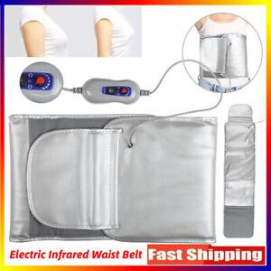 Sauna Belt For Weight Loss Waist Slimming Belts Infrared Heating Tummy Slimm