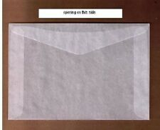 "100 #5 Glassine stamp Envelopes 3½"" x 6"" westvaco cenveo jbm storage bags"