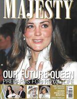 Kate Middleton Majesty Magazine The House of Savoy Crown Princess Martha 2011