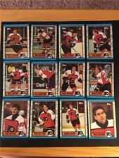 1989/90 Topps Philadelphia Flyers Team Set 12 Cards