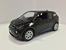 "Brand New 5"" Kinsmart BMW i3 Diecast Model Toy Car 1:32 Pull Action BLACK"
