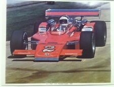 """A. j. Foyt 1972 Indy 500 Thompson Coyote Special Reprint 8.5x11"""" Photo"""