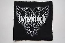 Behemoth Cloth Patch (CP181) Rock Black Metal Darkthrone Immortal Opeth