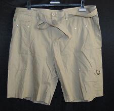 LACOSTE Pantalon Court Short Bermuda T 42 44 profondeur poches 120,- Gris d2383
