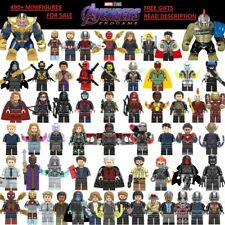 Marvel DC Comic Super Heroes X-Men Avengers Endgame Minifigures Building Block