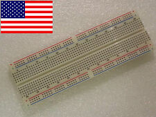 830 Tie-Point Solderless MB-102 Breadboard Protoboard BEST QUALITY *US SHIP*