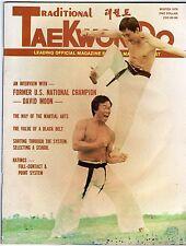 WINTER 1976 TRADITIONAL TAEKWON-DO MAGAZINE-MARTIAL ARTS-DAVID MOON INTERVIEW