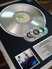 THE EAGLES HOTEL CALIFORNIA LP MULTI PLATINUM DISC RECORD AWARD ALBUM