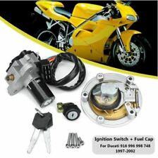 Motorcycle Ducati Cagiva mito125 Ignition Switch Fuel Gas Cap Lock Set