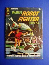 Magnus Robot Fighter 16: Russ Manning. Gold Key Nov 1966. FN.