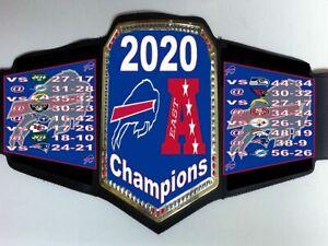 Buffalo Bills 2020 AFC East Division Champions Championship Belt