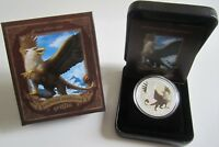 Tuvalu 1 Dollar 2013 Mythical Creatures Griffin 1 Oz Silber