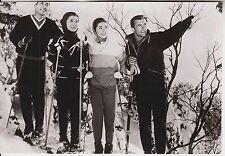 """Toni Sailer (Pressefoto '60) - in """"König der silbernen Berge"""" / Schnee"""