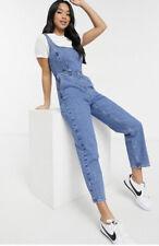 Asos Design Petite Denim Square Neck Jumpsuit New Size 6 RRP £42